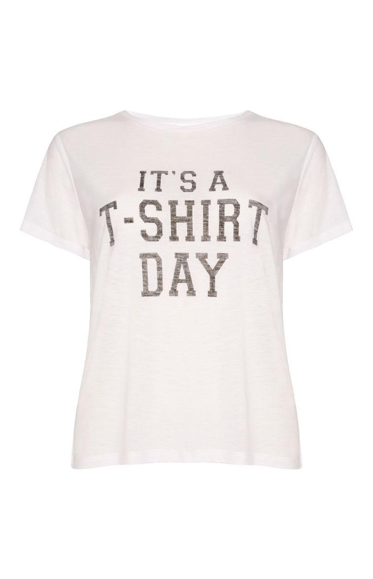 White t shirt day - White T Shirt Day Boxy T Shirt
