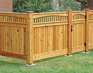 Cedar Fence idea