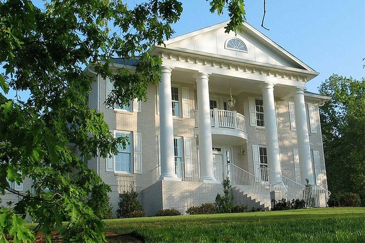 71 best historic homes images on pinterest historic for Historic southern house plans