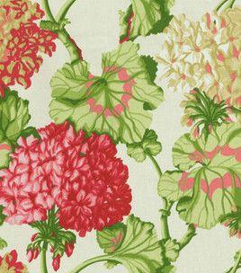Home Decor Print Fabric Waverly Geranium Exhibit Watermelon Home Decor Fabric At Joann