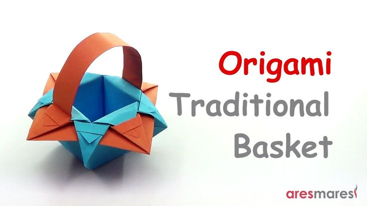 Origami Traditional Basket (easy - modular) You can call it easter basket and place an egg in it!!! #origami #unitorigami #howtomake #handmade #colorful #origamiart #diy #doityourself #paper #papercraft #handcraft #paperfolding #paperfold #paperart #papiroflexia #origamifolding #instaorigami #interior #instapaper #craft #crafts #creative #hobby #оригами #折り紙 #ユニット折り紙 #ハンドメイド #カラフル #종이접기 #اوريغامي