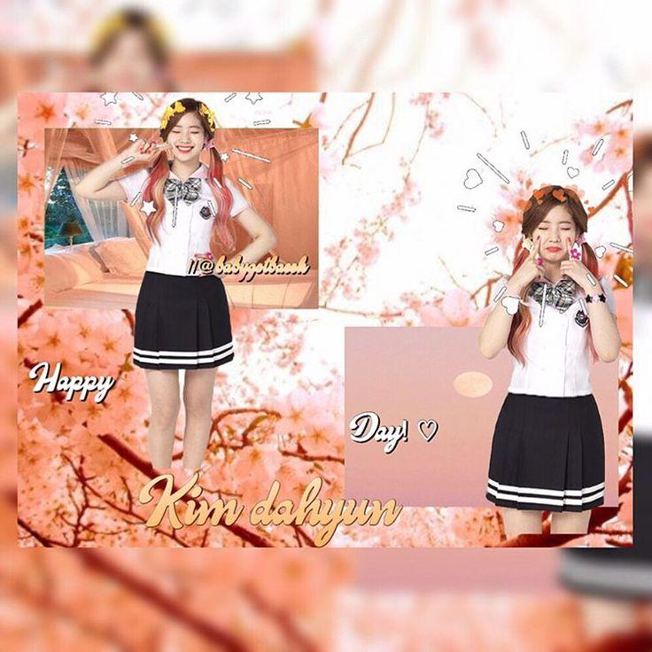 Happy birthday Kim dahyun! I swear if tzuyu wasn't in twice she'd be my bias No joke I love her so much and I love all of the members I love her singing voice along with Chaeyoung anyways happy birthday Dahyun!  (Ugly edit so Ignore that)      #kpop#anime#nintendo#bts#mario#link#zelda#peach#daisy#rosalina#shinee#exo#seventeen#2ne1#music#bigbang#splatoon#got7#kawaii#yokaiwatch#korea#japan#Ldshadowlady#blackpink#twice#snsd#winner#ikon#happydahyunday