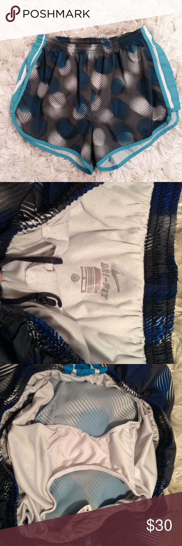 Nike Dri Fit Running Shorts Like new! No flaws- the best running shorts out there! Nike Shorts