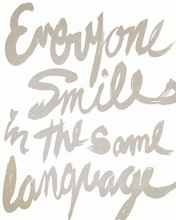 'Everyone Smiles in the Same Language' - George Carlin, sunnychampagne #Illustration #Quotation #George_Carlin: Smile Quotes, Thoughts, Inspiration, Carlin Quotes, So True, Language Quotes, George Carlin, Words Quotes, Everyone Smile