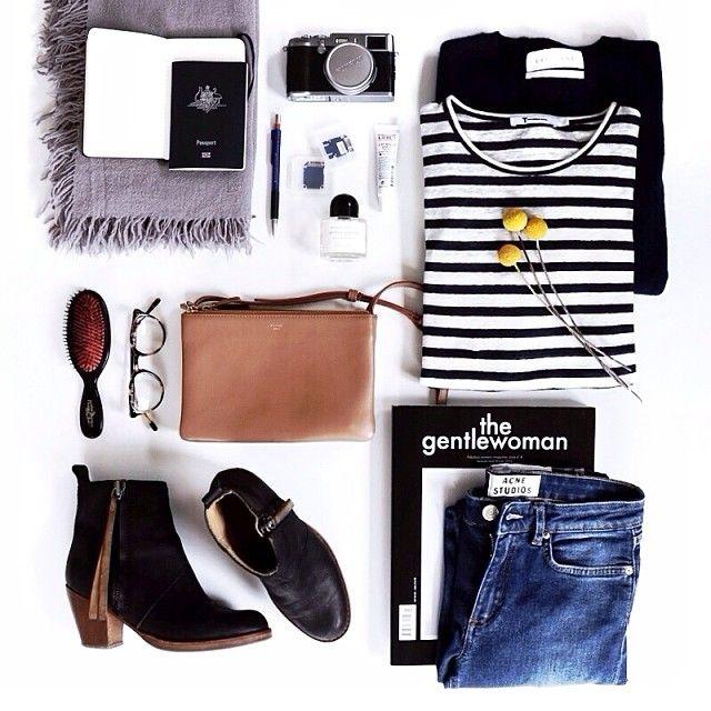 the gentlewoman #karryontravel #travel #flatlay http://karryon.com.au