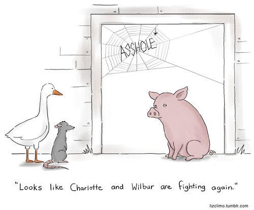 WilburLaugh, Quotes, Wilbur, Charlotte Web, Funny Stuff, Humor, Things, Charlotte'S Web, Giggles