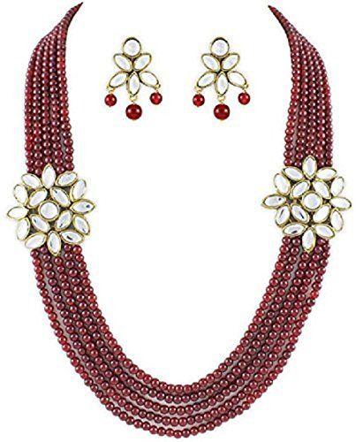 Indian Bollywood Royal Look Red Pearls Stylish Kundan Bro... https://www.amazon.com/dp/B01N8REXF9/ref=cm_sw_r_pi_dp_x_Bzo2yb7YD15AB