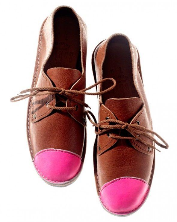 Neon Pink Toe Cap Otavi: Herbert Schier, Cap Otavi, Toe Cap, Head Of Garlic, Neon Toe, Neon Pink, Brother Velli, Pink When, Schier Shoes