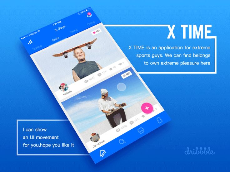 X TIME #ui #ux #animation #mobile #dribbble #gif #ios #iphone #interface #design