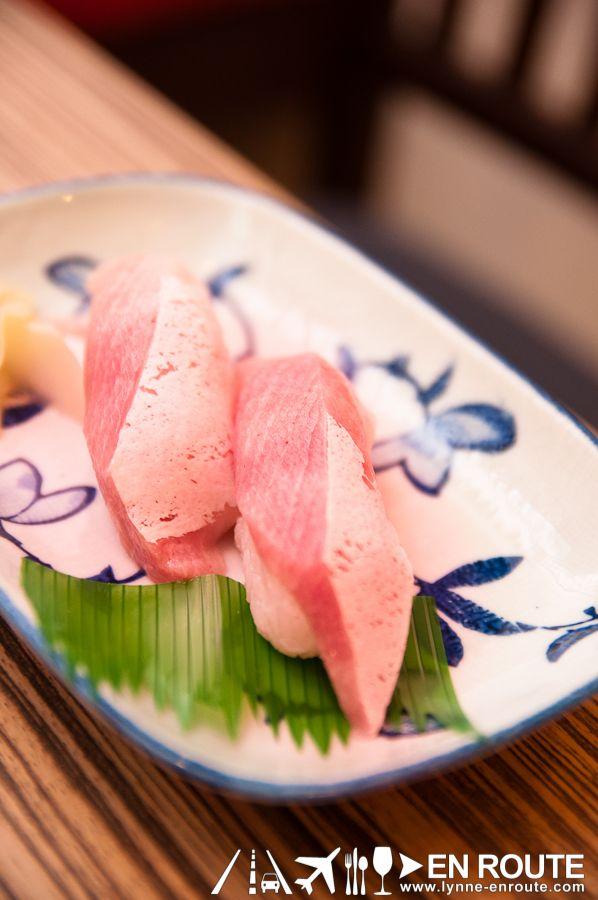 Hamachi Sushi from Haru Sushi Bar--gotta give some love to #haru!