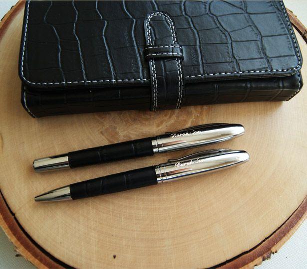 Eşiniz, babanız ya da sevgiliniz bu kalemleri her kullandıklarında sizi hatırlayacaktır :) Özel çantasında...