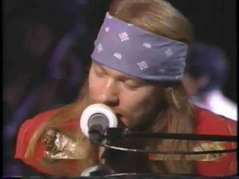 "Guns N' Roses November Rain ""MTV VIDEO MUSIC AWARDS 1992 """