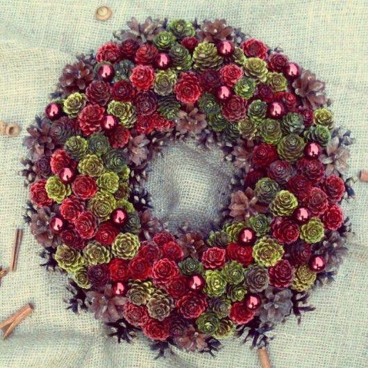 Wianek Jesienno-Świąteczny XL