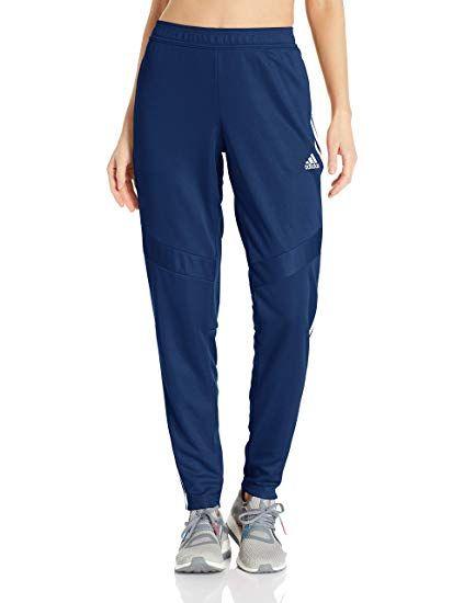 4523a79db adidas Women's Tiro19 Training Pants, Dark Blue/White, Medium   For ...