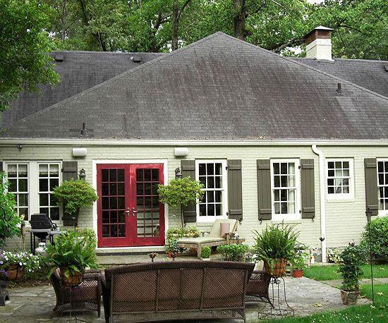 Exterior Brick Colors Best Exterior Paint Colors: Best 25+ Green House Exteriors Ideas On Pinterest