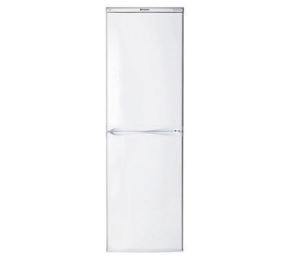 Buy Hotpoint First Edition RFAA52P Tall Fridge Freezer - White at Argos.co.uk, visit Argos.co.uk to shop online for Fridge freezers, Large kitchen appliances, Home and garden #FirstHomeAppliances #HomeAppliancesFreezers