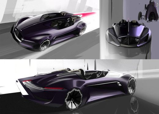 Bentley Extreme Roadster