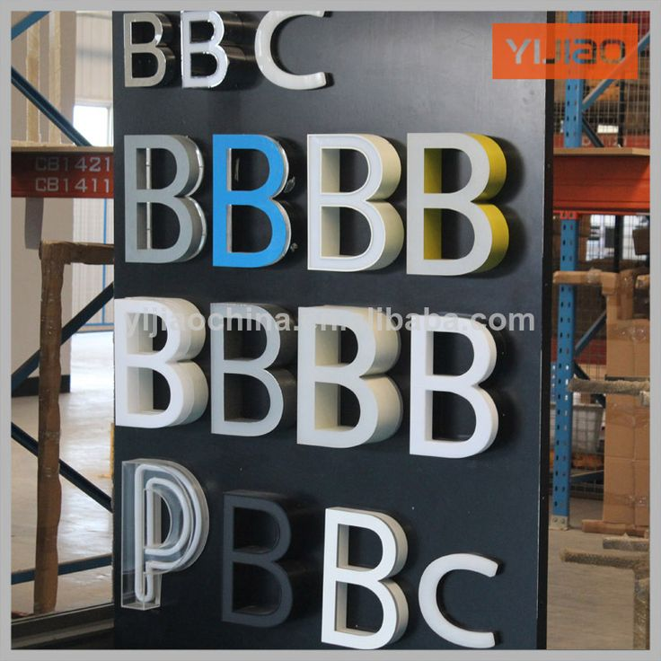 shanghai led channel letter signs