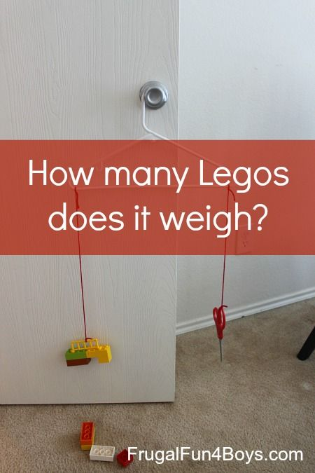 Lego Math: How Many Legos Does it Weigh?