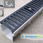 Mearin 100 Driveway Drainage Kit w/Ductile Iron grate