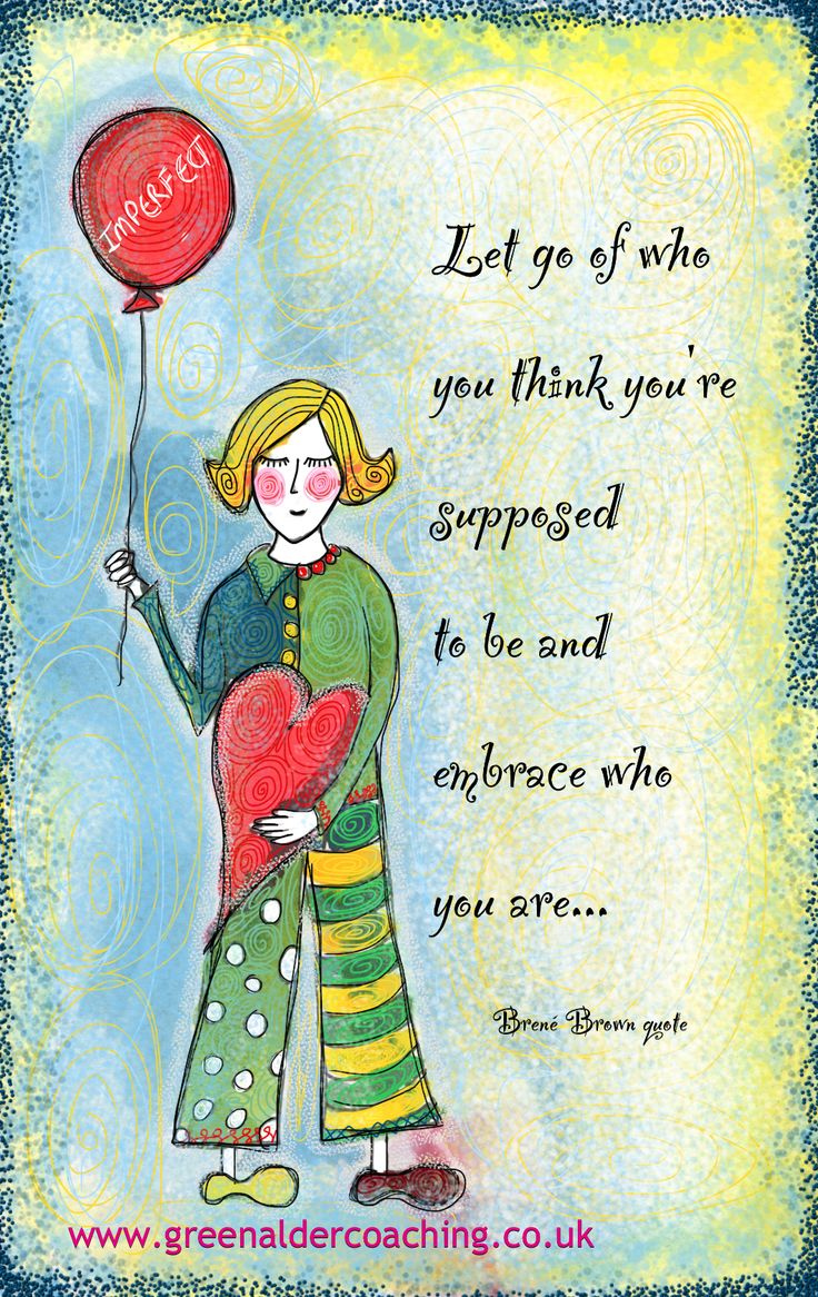#6 Brene Brown Quote Illustrated By Lisa Mcloughlin  Greenaldercoaching