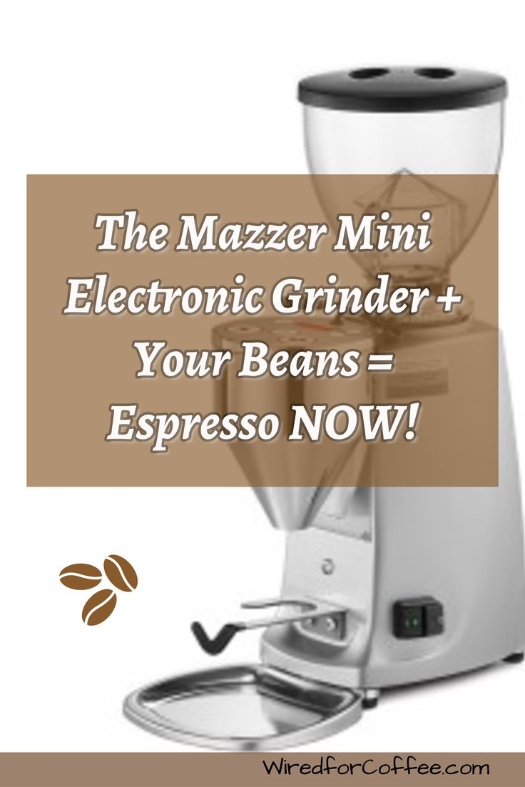 The Mazzer Mini Electronic Doserless Grinder is Mazzer's entry level workhorse coffee grinder. Fast, quiet and solidly built. Big burrs and a powerful motor gets you to your espresso in 20 seconds or less!