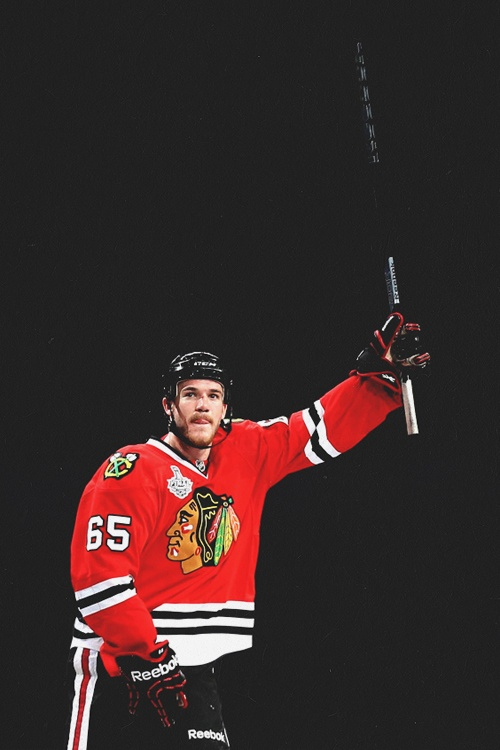 Andrew Shaw, Chicago Blackhawks Game 1 Hero (Source: hip-check)