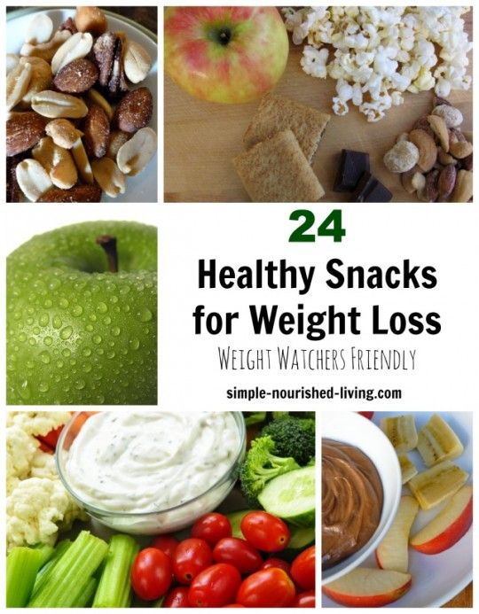 24 Healthy Snacks for Weight Watchers with Points Plus #WeightWatchers
