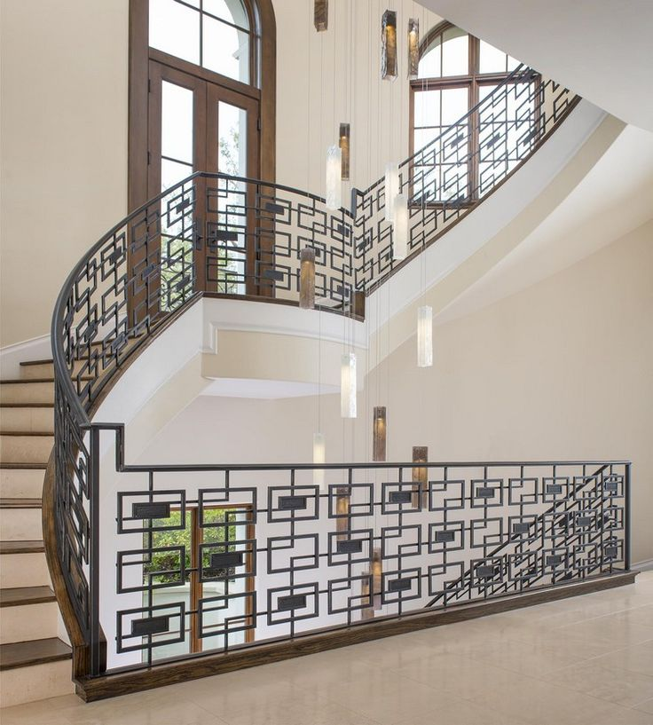 Home Decorating Ideas | Staircases Ideas With Pendant Lamps   Luxury  Residence By @ddginteriors