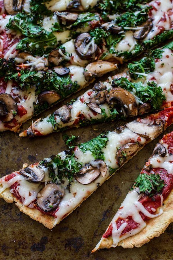 Best glutenfri pizza [& vegan!]   Edibleperspective.com #vegan #glutenfree