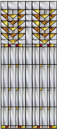 Frank Lloyd Wright Window Designs | Stained Glass Windows Inspired by the Frank Lloyd Wright