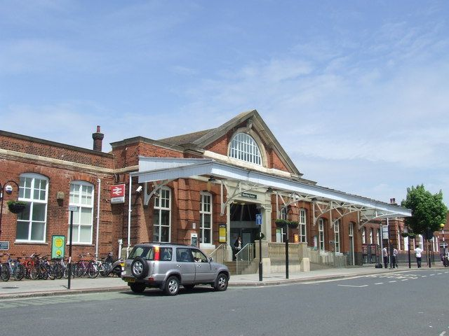 Worthing Railway Station (WRH) in Worthing, West Sussex