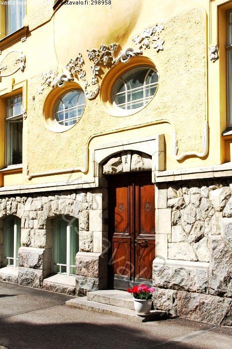 art nouveau door , helsinki