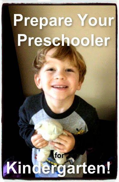 how to prepare my child for kindergarten