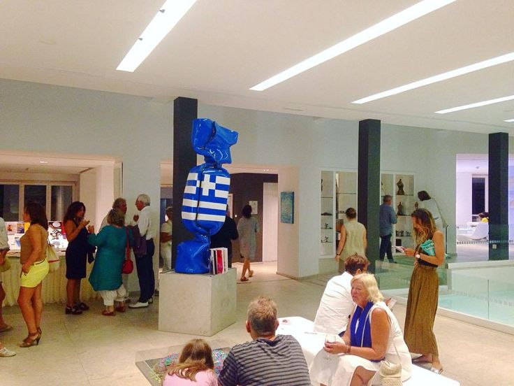 Opening of the Mina Kordali exhibits «Odyssey 2016» at Patmos Aktis Suites and Spa, at Grikos Bay,from the 16th of August to the 15th of September.