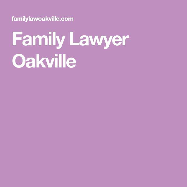 Family Lawyer Oakville