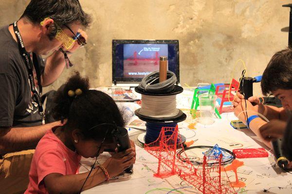 Atelier dessin et stylos 3D - Animation Evotion, société d'événementiel