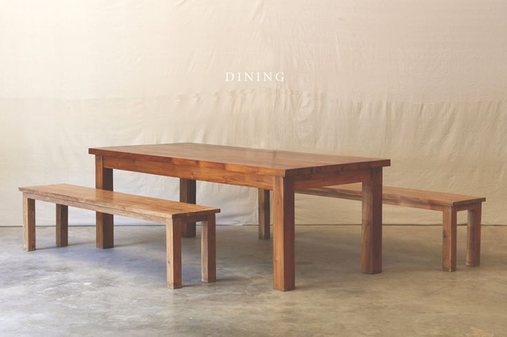 Hunt and Lane | a top shelf furniture company | Reclaimed Barn Wood Teak Dining Set | Java Indonesia | tropical living | organic, sustainable furnishings and interiors for your home.