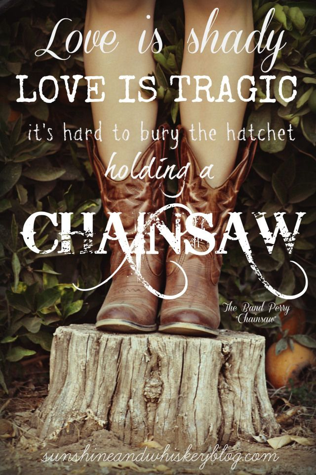 Chainsaws and flower crown photo shoot on Sunshine and Whiskey Blog   www.sunshineandwhiskeyblog.com  #chainsaw #bandperry