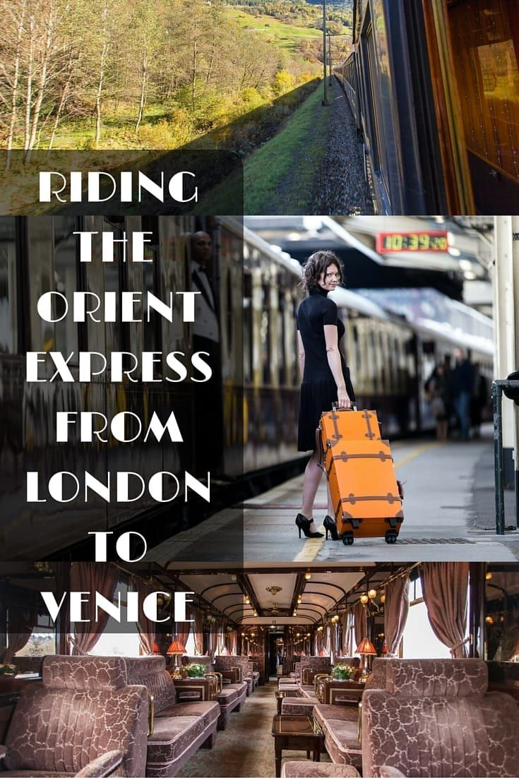 A luxury train ride on the Venice Simplon Orient Express from London to Venice - our experience and our tips & advice for making the most of this wonderful train ride!