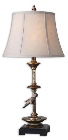 Uttermost Aereo Gold Table Lamp