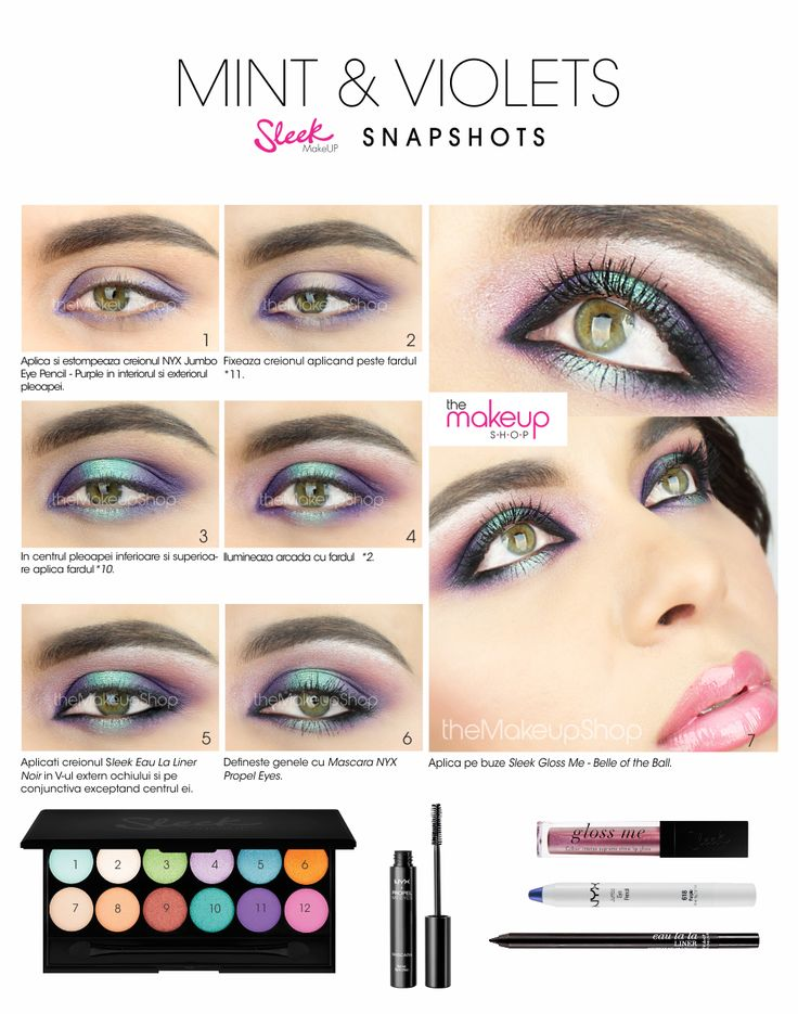 Paleta Farduri Sleek Snapshots - Makeup Shop