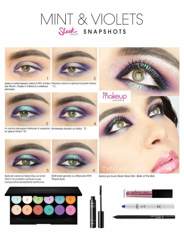 Paleta Farduri Sleek Snapshots - Makeup Shop