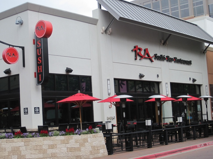 Ra sushi the shops at legacy pinterest for Tattoo shops in plano