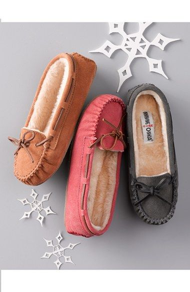 Minnetonka 'Cally' Slipper | Nordstrom maybe not these but some new slippers