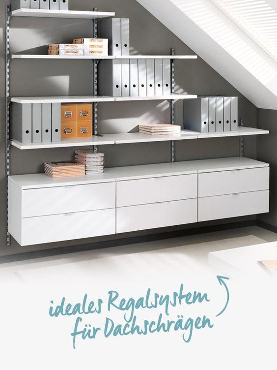 Büroregal – für Ordner und Akten, aus Holz oder Metall