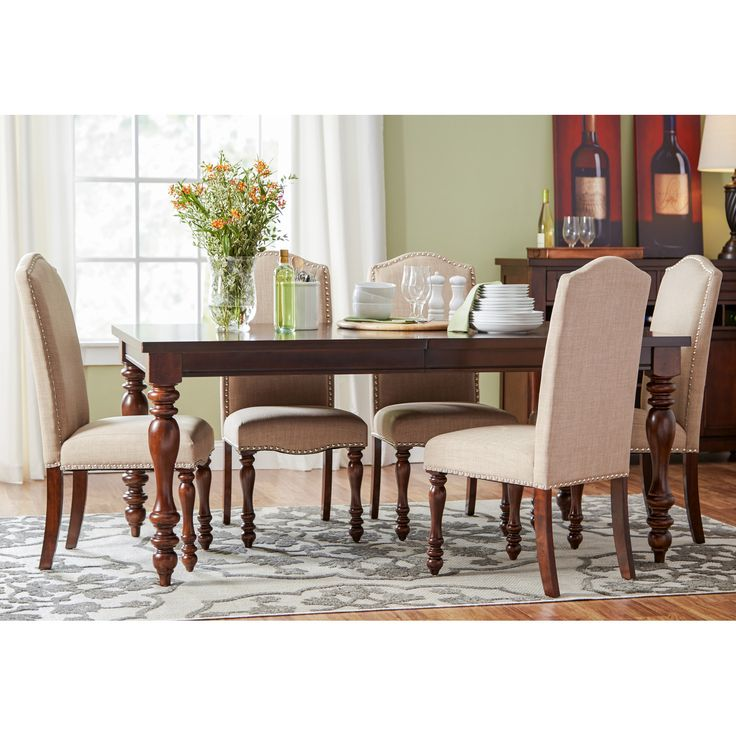 found it at wayfair chilton 7 piece dining set - Wayfair Dining Chairs