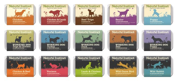 Natural Instinct Pet Food  - The Dieline -