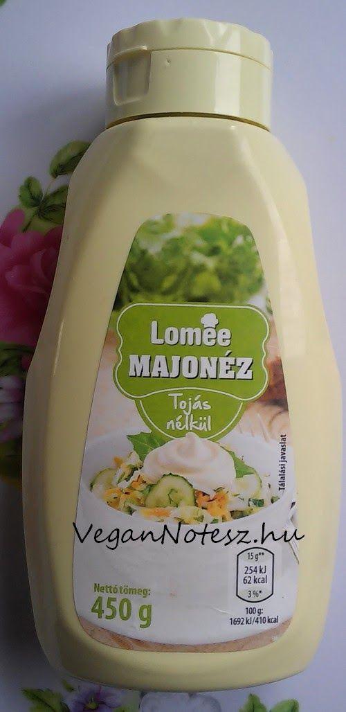 VeganNotesz.hu - vegán receptek, terméktesztek: Aldi Lomee tojásmentes majonéz, a vegánok kedvence?
