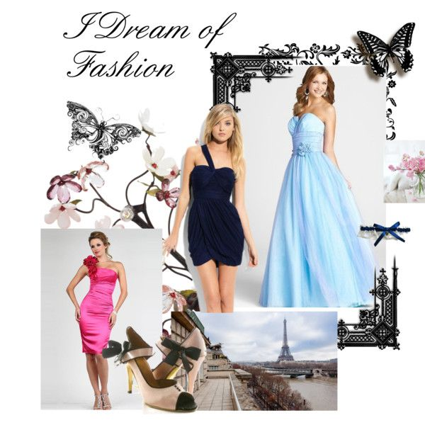 Mavogue #2 Robe De Cocktail by mavogue on Polyvore featuring Canopy Designs